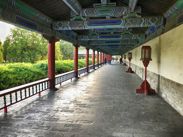 Hall at the Temple of Heaven in China