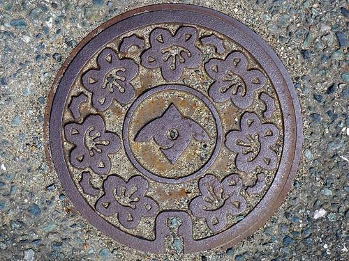Sue Fukuoka, manhole cover 2 (福岡県須恵町のマンホール2)