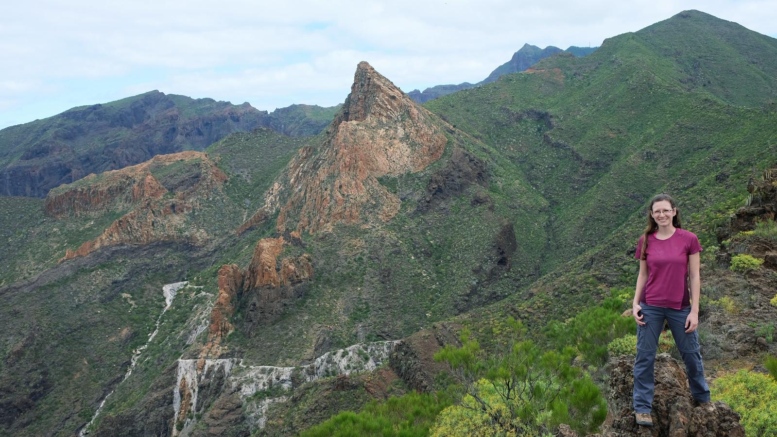 Tamaimo and Montaña de Guama Circuit Trail, Teno Rural Park, Tenerife, Canary Islands, Spain