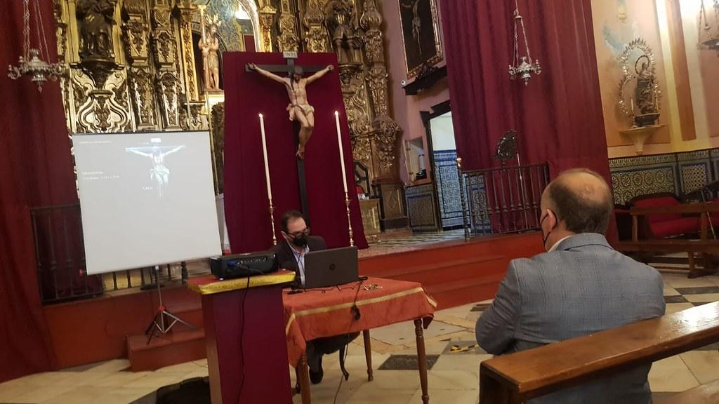 Presentación del proceso de Restauración Cristo Crucificado