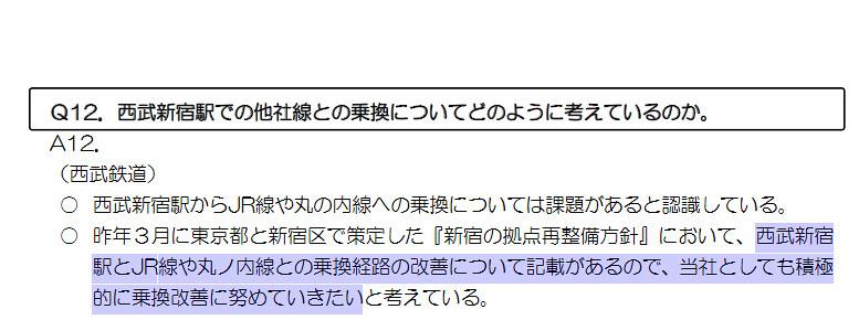 西武新宿線 国鉄新宿駅乗り入れ計画 (98)