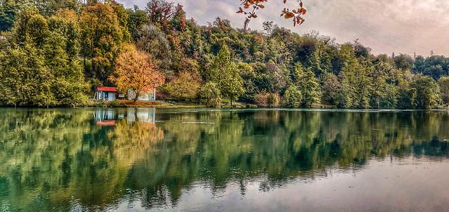 L'autunno colora l'Adda
