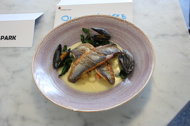 Level 3 Professional Cookery Students Show Their Seafood Skills