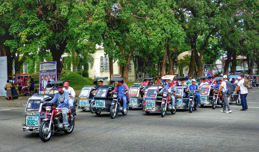 Motorized tricycles, Philippines