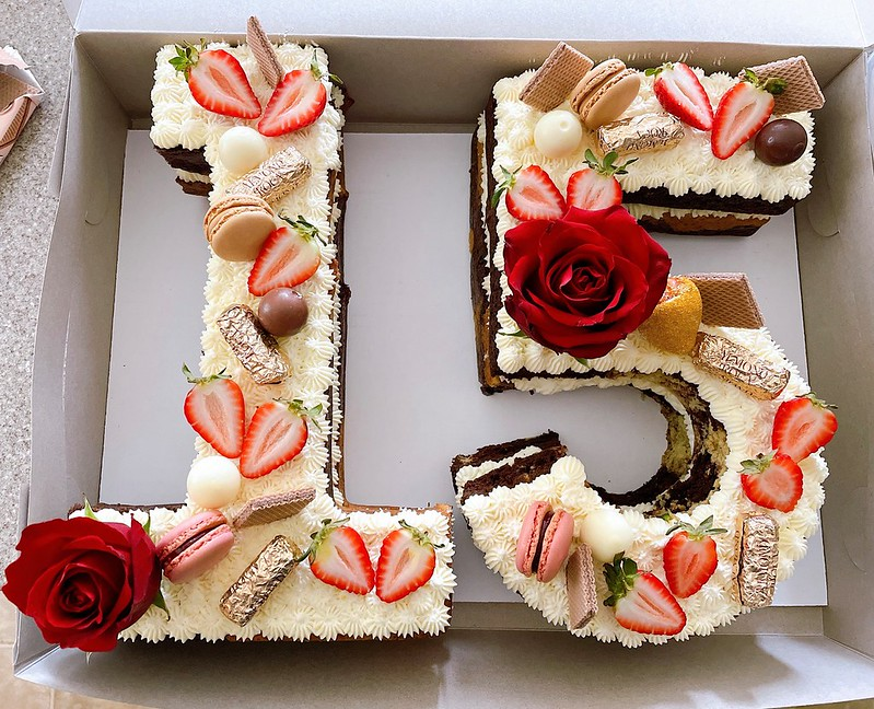 Number Cake by Sweet Treats Delights