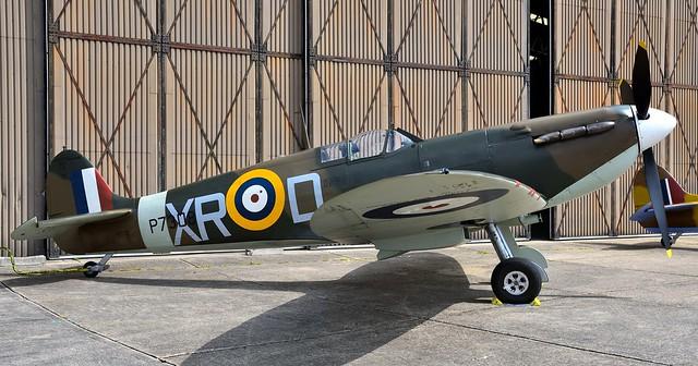 1941 RAF Supermarine Spitfire Mk1a G-AIST P7308 XR-D