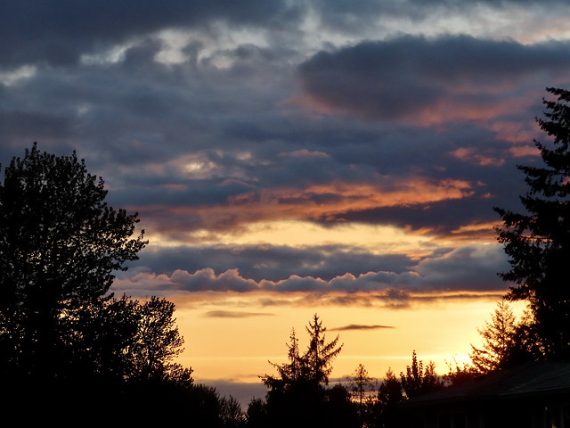 Rainy Day Sunset