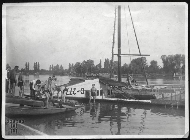 ArchivTappen233A608 Wassersport, 1920er