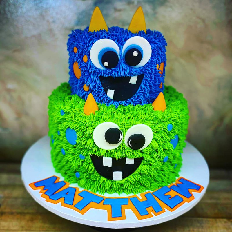 Cake Monsters by Bread Basket Cake Company