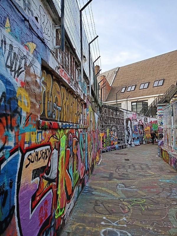 Los grafitis de Gante no son cualquier cosa