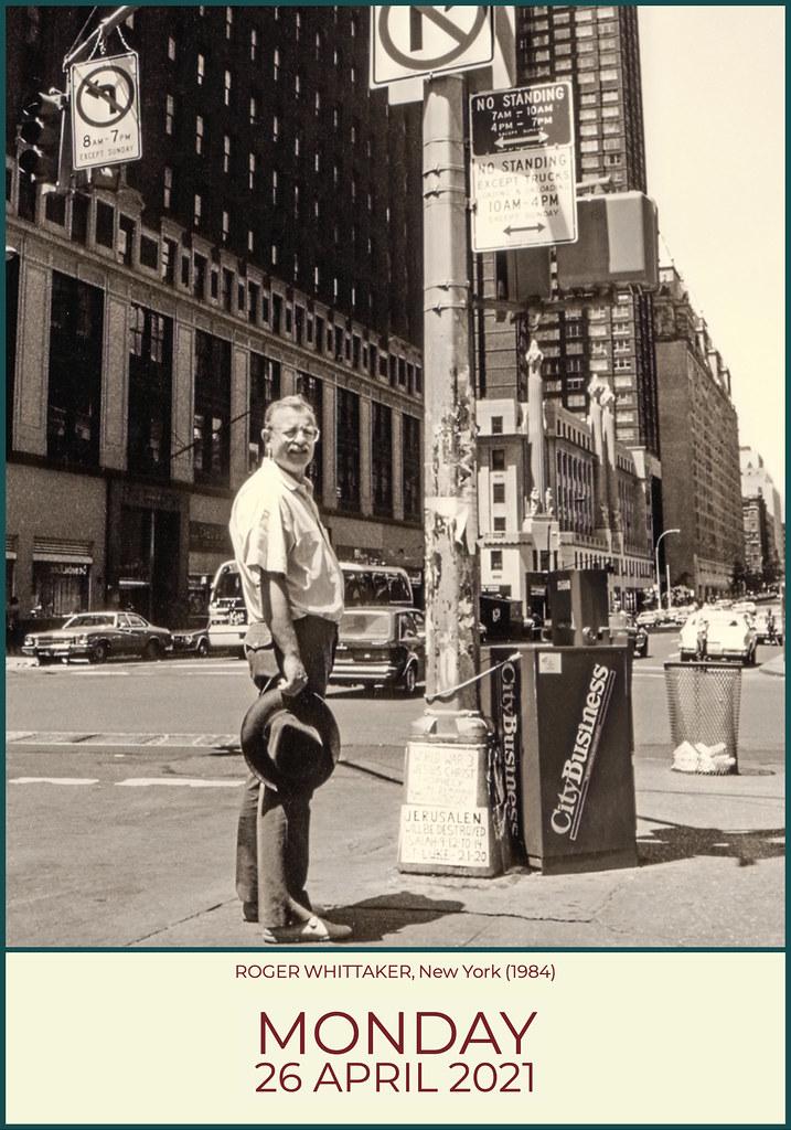 Roger Whittaker In New York