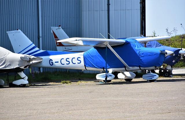 G-CSCS - Reims Cessna F172N Skyhawk    North Weald