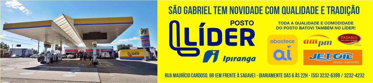 Posto Líder Ipiranga - uma novidade em São Gabriel
