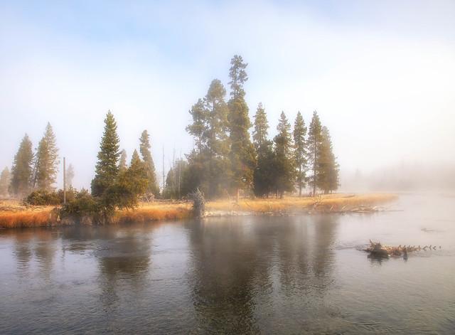 Firehole River Dawn