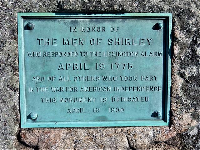 Shirley, Mass., USA town center.