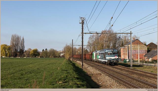 SNCF 467629 + 467579 @ Soignies