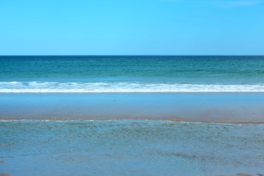 Atlantic Ocean, Hampton Beach, New Hampshire, USA 2021