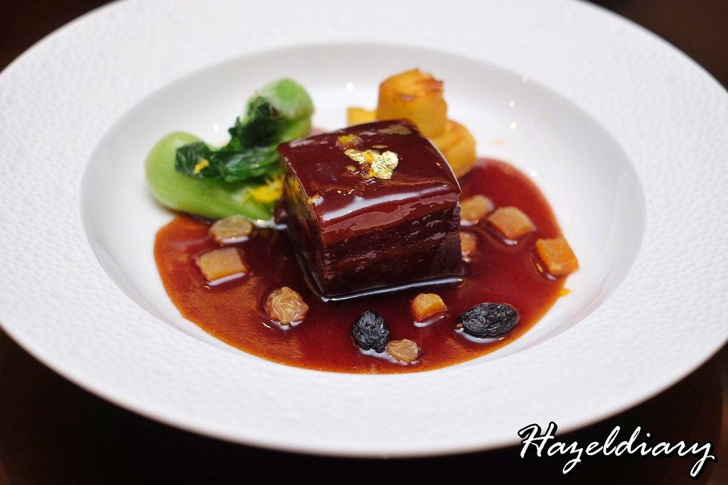 Jiang Nan Chun-Four Seasons- Braised Pork Belly with Pineapple