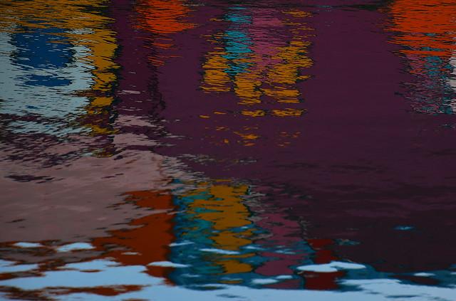 Reflets d'une partie de la fresque _3451