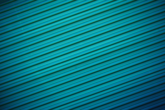 Dark Teal Green Corrugated Metal Textured Background 2021