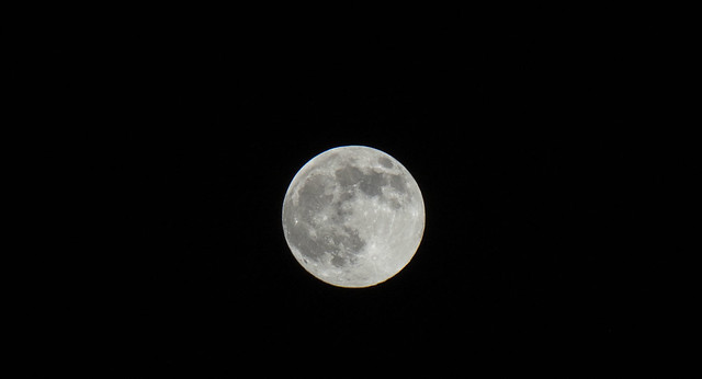 Ramadan super pink Full Moon