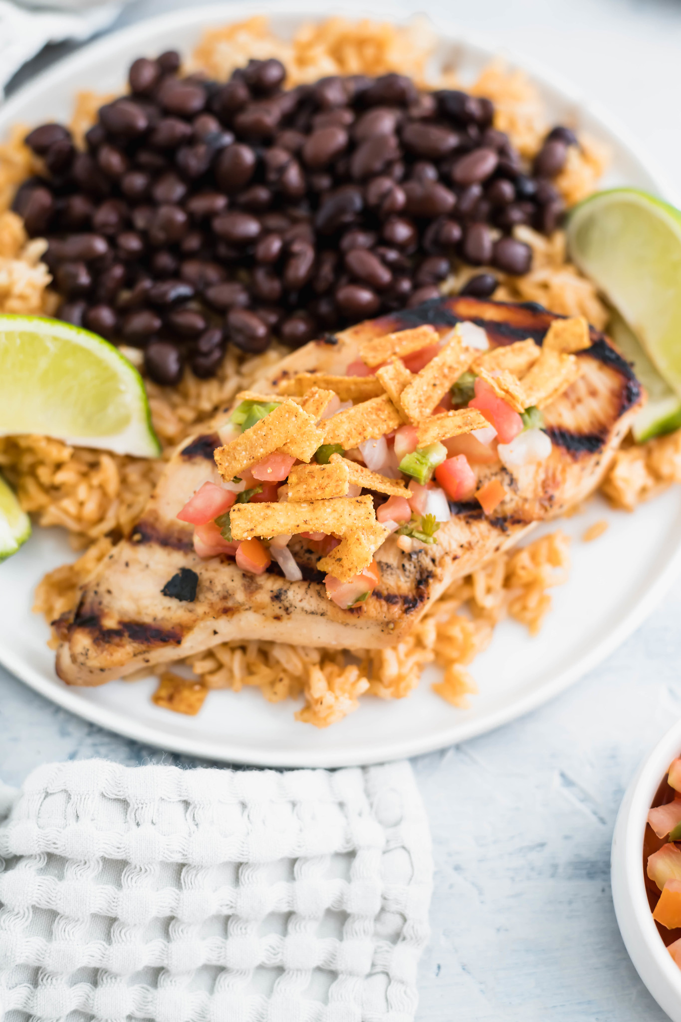 Skip eating out and make this copycat Chili's Margarita Grilled Chicken. It's a restaurant favorite that tastes just as delicious at home.