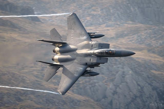 USAF F-15E Strike Eagle C/S 'CLAW 11'