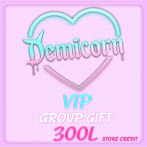 DEMICORN VIP GROUP GIFT