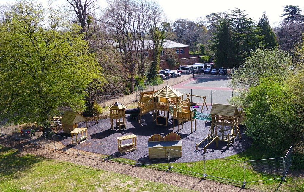 Adventure Playground aerial