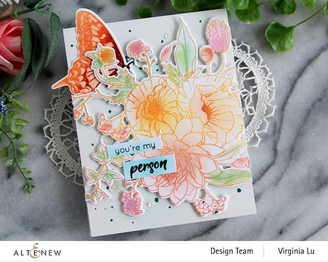 Altenew-Simply Spring Stamp & Die Bundle-Dovetail Butterflies Stamp & Die Bundle-003