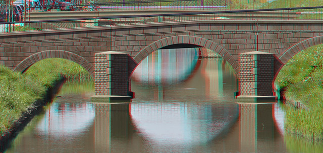 Spijkenisser Euro-bruggen 10-Eurobiljet 3D