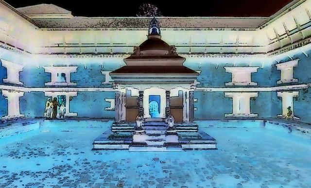 Nepal - Patan - Durbar Square - 97ee