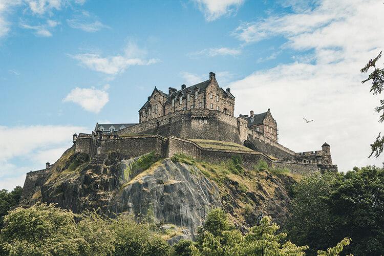 Edinburgh Castle and the Royal Mile