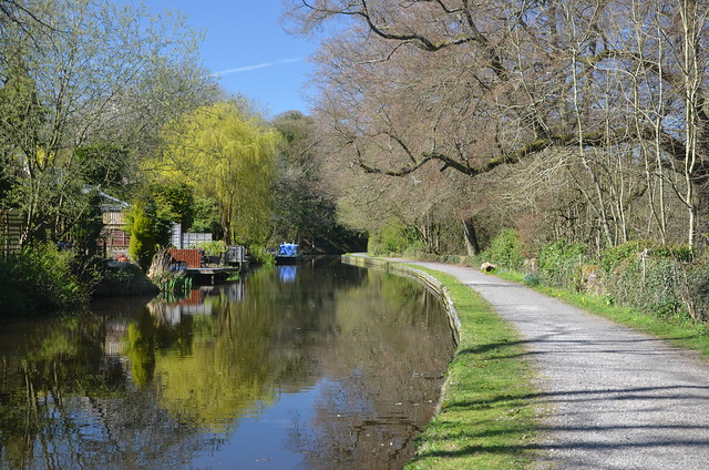 Serenity, Peak Forest Canal, Derbyshire, England.