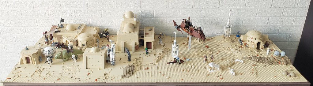 Tatooine diorama