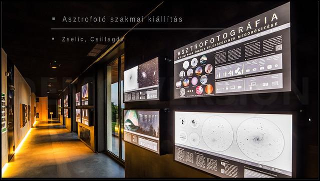 A MAFE asztrofotós szakmai kiállítása a Zselici Csillagparkban