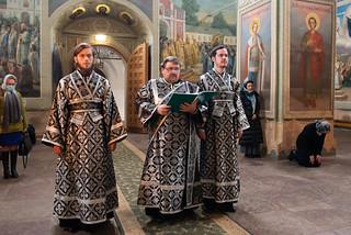 27.04.2021 | Литургия Преждеосвященных Даров в Иверском монастыре