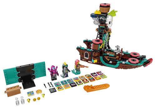 LEGO VIDIYO Punk Pirate Ship_43114_Prod