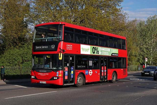 Route 635, London United, SP40001, YN56FCA