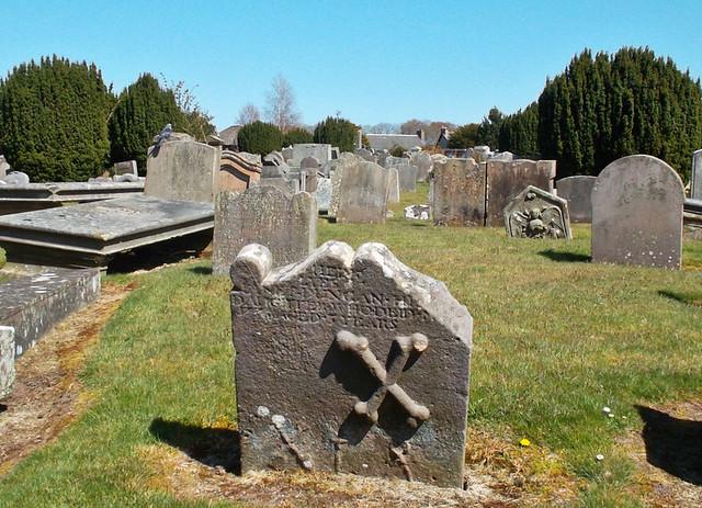 St Kentigern's Burial Ground, Lanark, Scotland