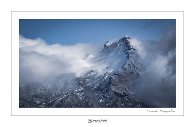 Mount Ruapehu Being Just A Little Bit Epic!