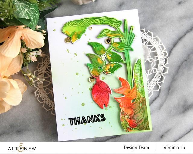Altenew-Tropical Jungle Stamp Set-Tropical Jungle Die Set-003