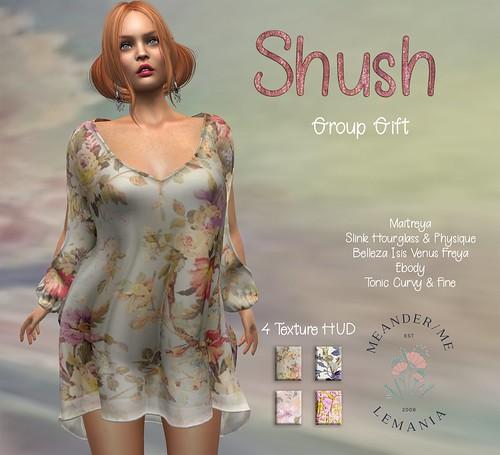 MM Shush Dress Ad