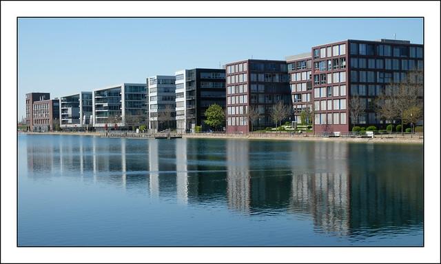 Der Innenhafen Duisburg