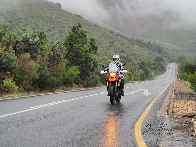 Biking The Rainy Mountain Pass