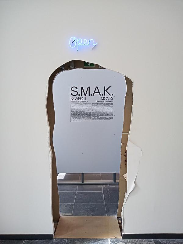 Exposición especial en el S.M.A.K.