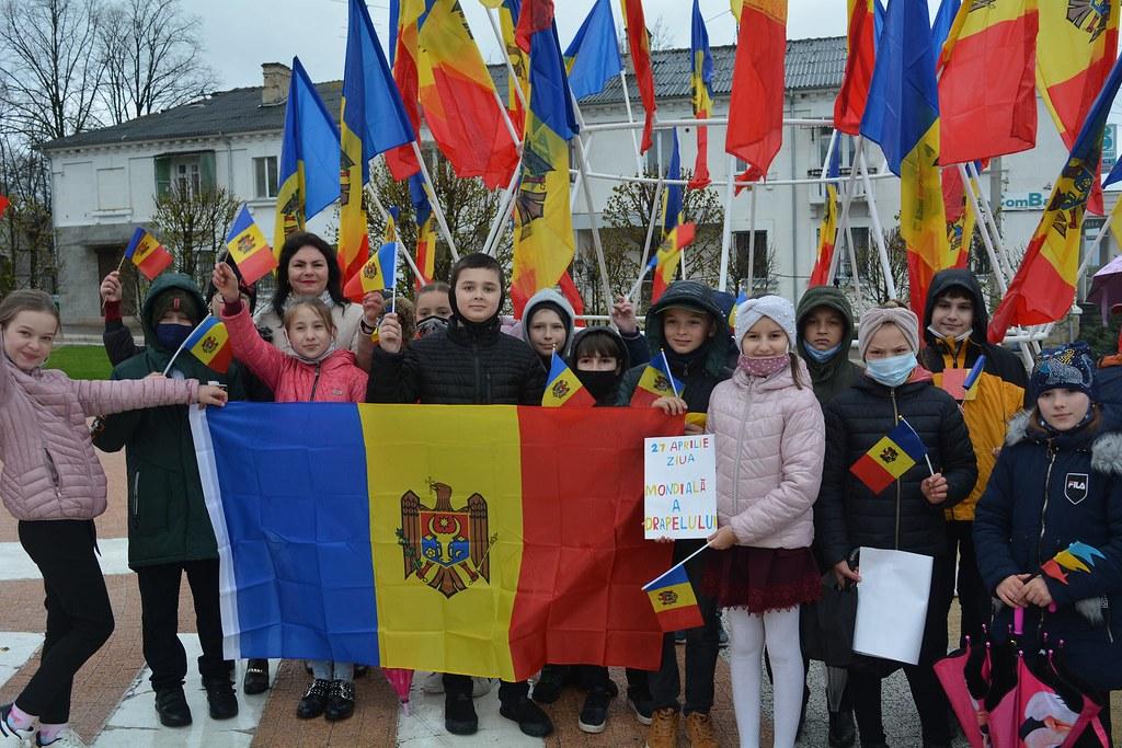 27.04.2021 31 de ani ai Drapelului Republicii Moldova