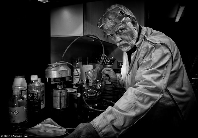 UK Lockdown (3) day 115, Chemistry is just like cooking - but more dangerous.