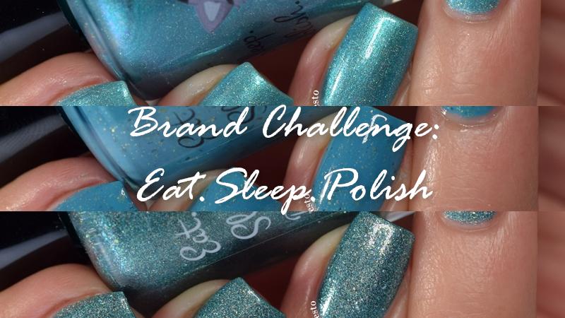 Eat Sleep Polish Swatch