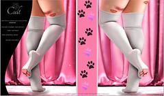 : CULT : Kitten Socks with HUD